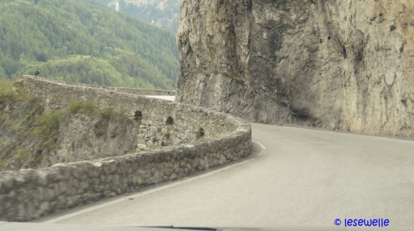 Strasse ins Val d'Anniviers